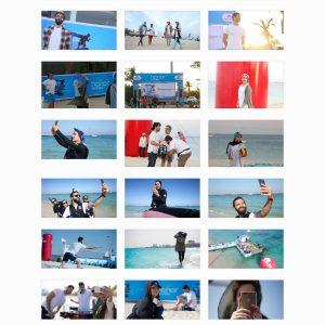 گالری عکسهای کمپین هوآوی آنر 8