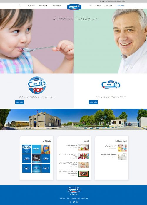 Danone Website