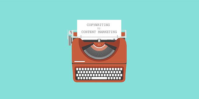 بازاریابی محتوا در مقابل کپی رایت