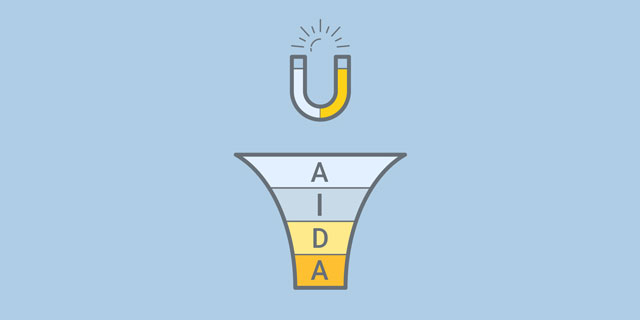مدلAIDA راهی برای جذب مشتری بیشتر