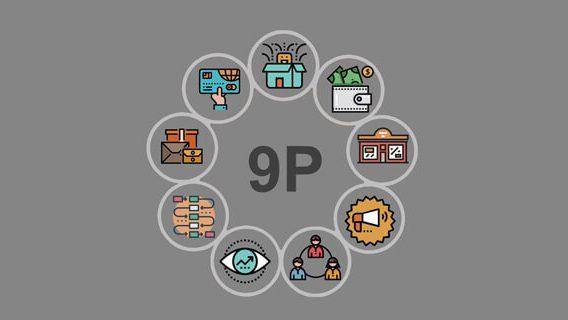 آشنایی با 9P در بازاریابی